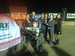 2016 Empire Stallions Vicbred Super Series Pacers Final Night